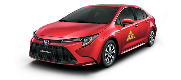 Toyota Corrolla Taxi Hibrido Autorecargable - Taxi Corolla Limited 2021