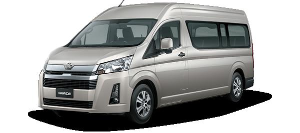 Toyota Hiace techo alto - Hiace Top Line 14 2021