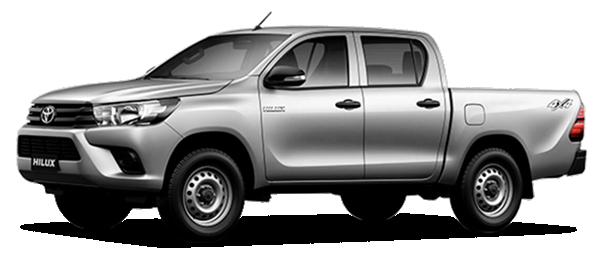 Toyota Hilux de Trabajo 2.4L - HILUX Doble Cabina NEW LINE 2.4L 4x4 2022
