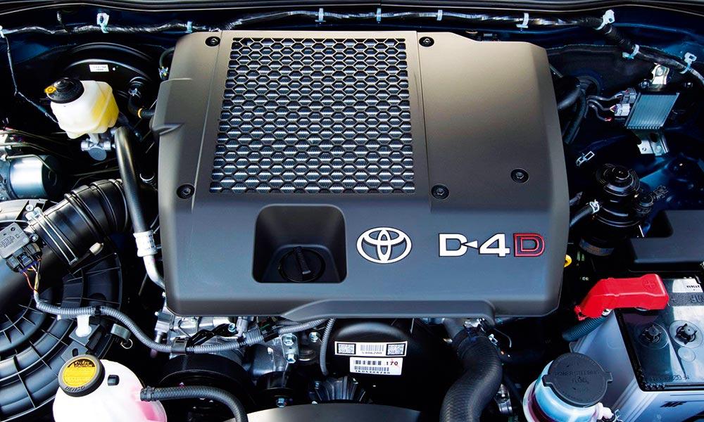 Motor 2400cc, 4 cilindros, 16V DOHC D-4D