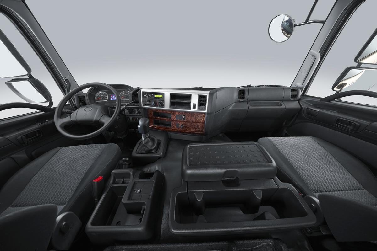 Cabina ergonómica y confortable