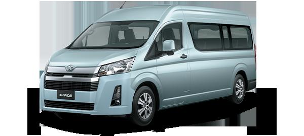 Toyota Hiace techo alto 2021