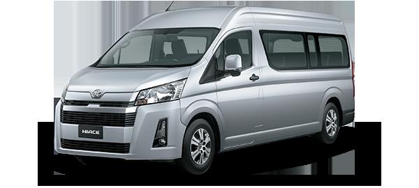 Toyota Hiace techo alto 2021 Silver Metallic