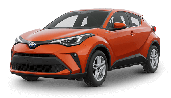 Toyota C-HR Híbrido Auto Recargable 2021 ORANGE METALLIC