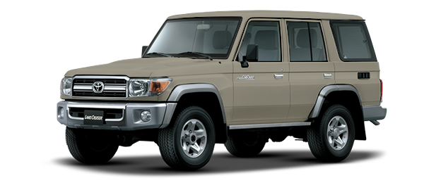 Toyota Land Cruiser Hard Top 4 Puertas 2021 BEIGE