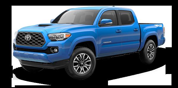 Toyota Tacoma 2021 Azul