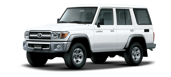 Toyota Land Cruiser Hard Top 4 Puertas 2021 WHITE