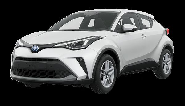 Toyota C-HR Híbrido Auto Recargable 2021 WHITE PEARL CS