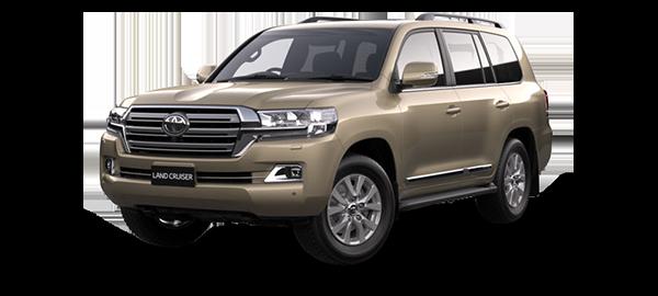 Toyota Land Cruiser Station Wagon 2021 BEIGE METALLIC