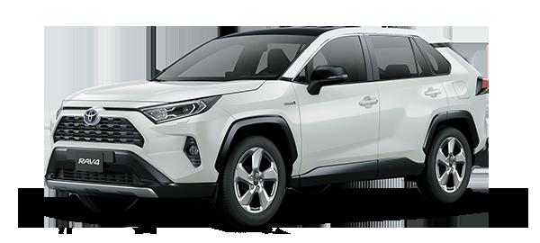 Toyota Rav4 Híbrido Auto Recargable 2021 Super White II