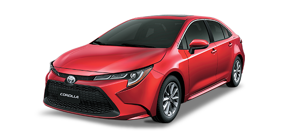 Toyota Corolla 2021 Red Mica Metallic