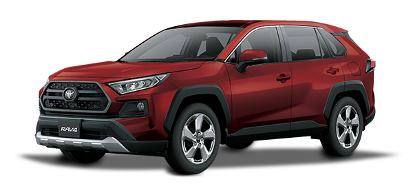 Toyota Rav4 adventure 2021 RED MC