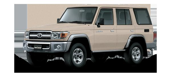 Toyota Land Cruiser Hard Top 4 Puertas 2021 BEIGE METALLIC