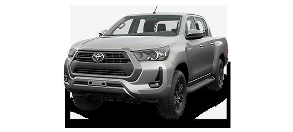 Toyota Hilux 2.4L 2021 SILVER METALLIC