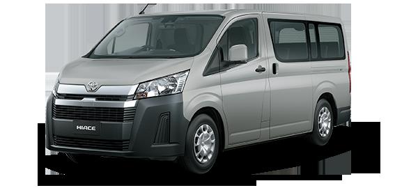 Toyota Hiace techo bajo 2021 BEIGE