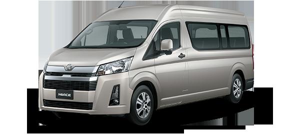 Toyota Hiace techo alto 2021 BEIGE MET