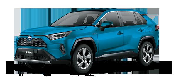 Toyota Rav4 Híbrido Auto Recargable 2021 CYAN METALLIC