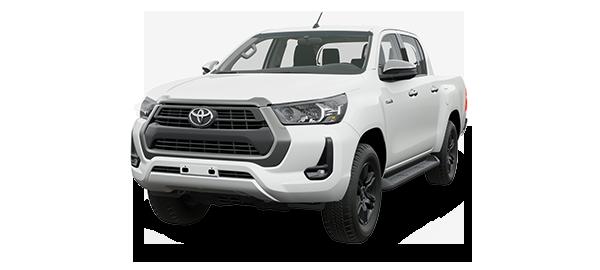 Toyota Hilux 2.4L 2021 WHITE PEARL CS