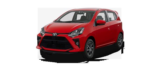 Toyota Agya 2021 Rojo