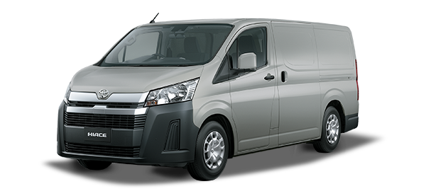 Toyota Hiace Panel 2021 SILVER METALLIC