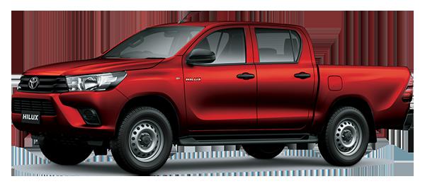Toyota Hilux de Trabajo 2.4L 2022 RED