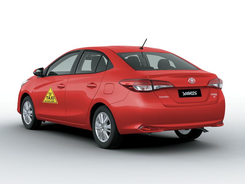 galería Corolla Taxi Hibrido Autorecargable