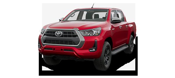 Toyota Hilux 2.4L 2021 CRIMSON SPARK RED METALLIC