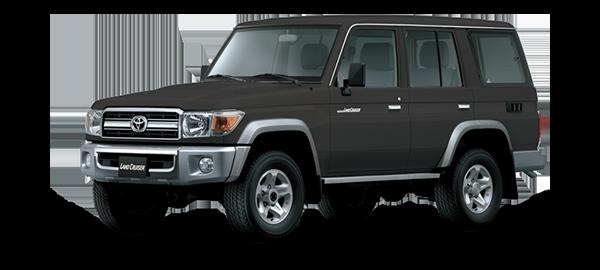 Toyota Land Cruiser Hard Top 4 Puertas 2021 GRAY METALLIC/GRAPHITE