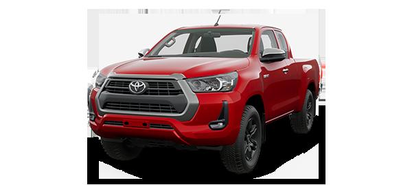 Toyota Hilux Extra Cabina 2021 CRIMSON SPARK RED METALLIC