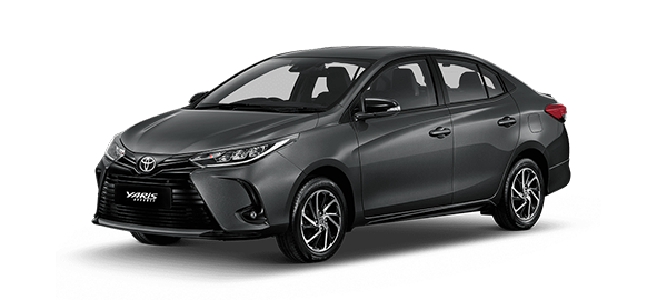 Toyota Yaris Advance 2021 GRAY METALLIC/GRAPHITE
