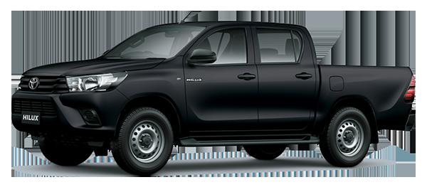Toyota Hilux de Trabajo 2.4L 2022 BLACK