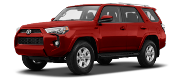 Toyota 4Runner 2021 Red Mica Metallic