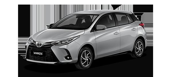 Toyota Yaris HB 2021 SILVER METALLIC