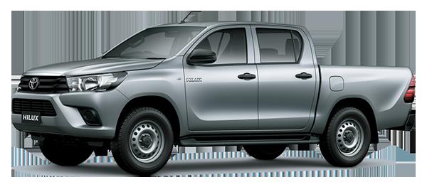 Toyota Hilux de Trabajo 2.4L 2022 SILVER METALLIC