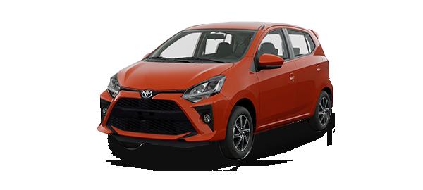 Toyota Agya 2021 Naranja