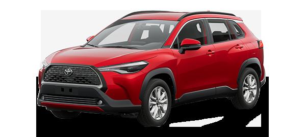 Toyota Corolla Cross 2022 Red Mica Metallic