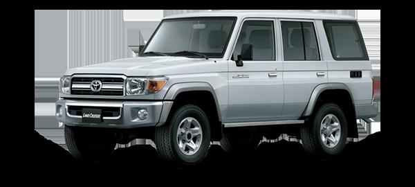 Toyota Land Cruiser Hard Top 4 Puertas 2021 Silver Metallic
