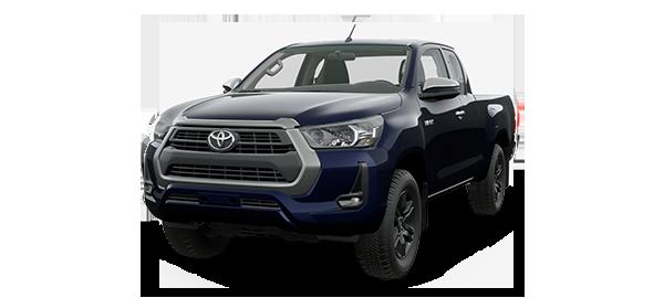 Toyota Hilux Extra Cabina 2021 NEBULA BLUE MICA