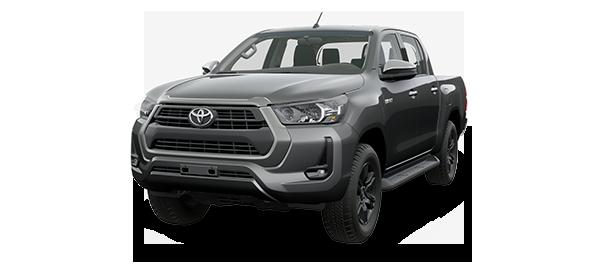 Toyota Hilux 2.4L 2021 GRAY METALLIC/GRAPHITE