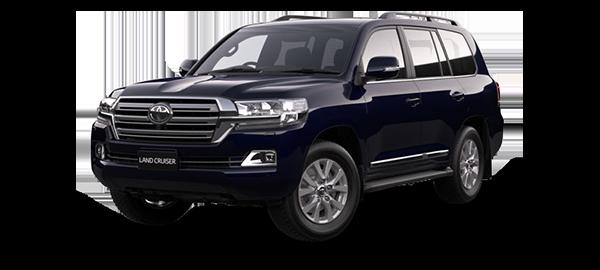 Toyota Land Cruiser Station Wagon 2021 DARK BLUE MICA