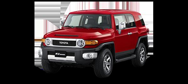 Toyota FJ Cruiser 2021 RED