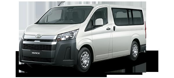 Toyota Hiace techo bajo 2021 WHITE