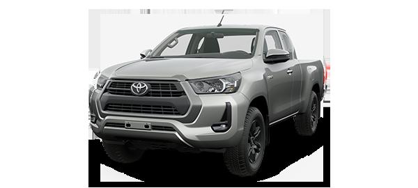 Toyota Hilux Extra Cabina 2021 SILVER METALLIC