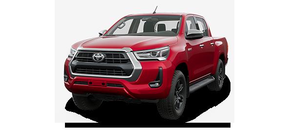 Toyota Hilux 2.8L 2021 CRIMSON SPARK RED METALLIC