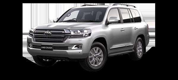Toyota Land Cruiser Station Wagon 2021 Silver Metallic