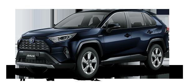 Toyota Rav4 Híbrido Auto Recargable 2021 Dark Blue mc