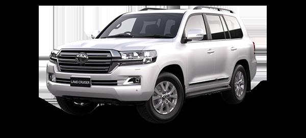 Toyota Land Cruiser Station Wagon 2021 Super White II