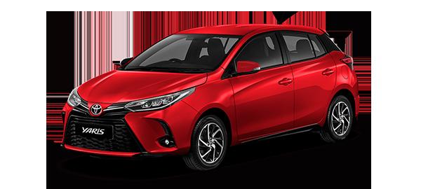 Toyota Yaris HB 2021 Red Mica Metallic