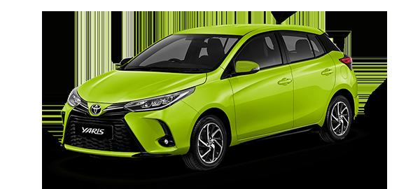 Toyota Yaris HB 2021 Citrus Mica Metallic