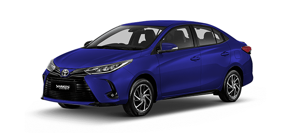 Toyota Yaris Advance 2021 Dark Blue Mica Metallic